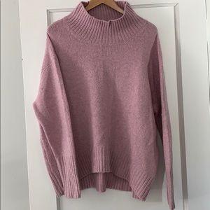 Cynthia Rowley mock cowl sweater